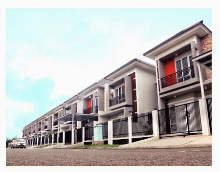 metland rumah idaman investasi masa depan berjajar rapi