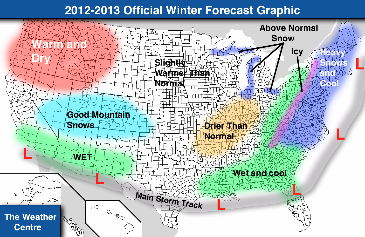 Thank you for reading the official 2012-2013 winter forecast. If you