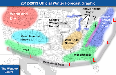 delineated above here is the overall graphic for the winter forecast