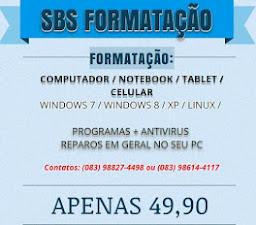 SBS FORMATAÇÃO
