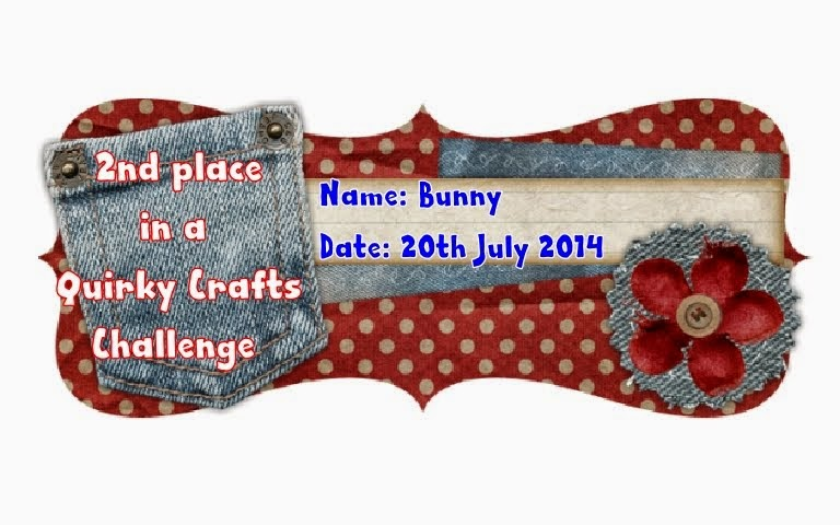 Quirky Crafts July Guest Designer