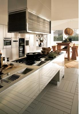 Decora y disena cocinas de acero inoxidable for Cocina acero inoxidable