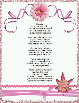 Poesias del día de la Madre