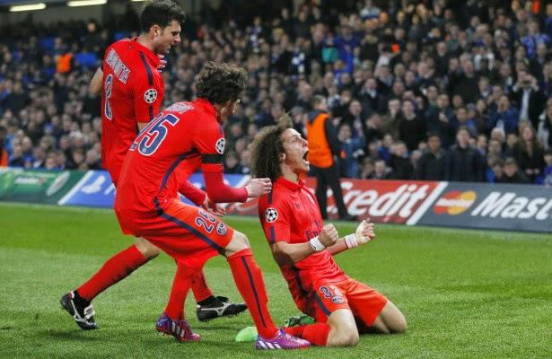 David Luiz Minta Maaf Kepada Chelsea