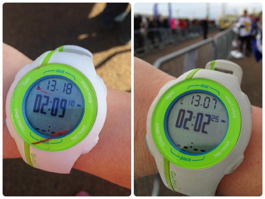 Brighton Half Marathon 2014 vs 2015