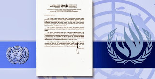 "United Nation's Human Rights Council  ""The right to freedom of artistic expression and creativity."