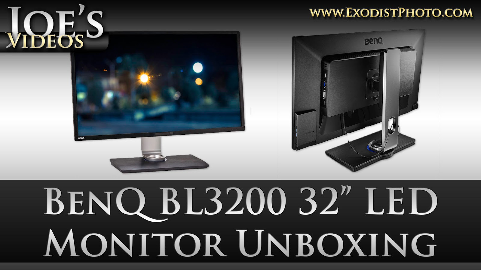 "BenQ BL3200PT CAD/CAM WQHD 32"" LED Monitor Unboxing & First Impressions 