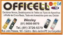 OFFICELL - Rua João Pessoa , Nº 103, Centro - Fone: 3726 - 8079