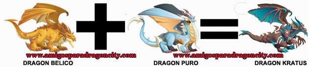 como hacer el dragon kratus de dragon city formula 2