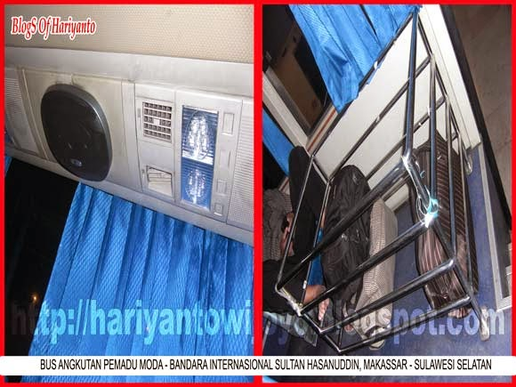 Bus Angkutan Pemadu Moda Bandara Internasional Sultan Hasanuddin Makassar