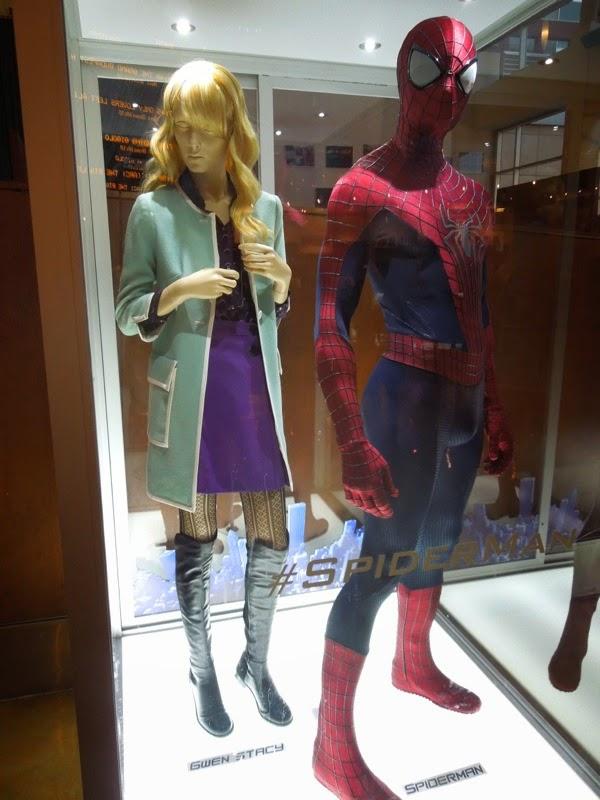 Original Amazing Spider-man 2 movie costumes