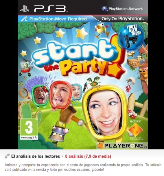 Start The Party [PS3][Eng][3.55]