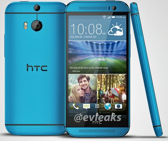 HTC One (M8) blue