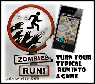 Zombie Run! App Review from Gadgetgirltips.com