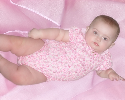 pink baby pictures