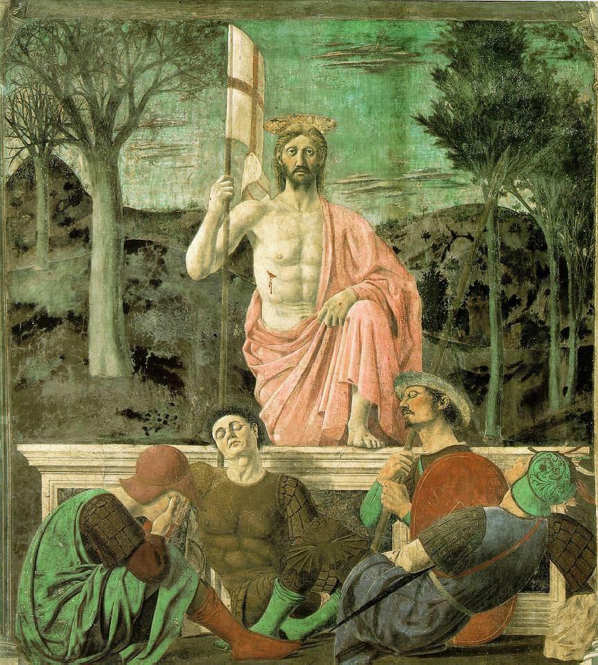 Imagen con Jesús Resucitado