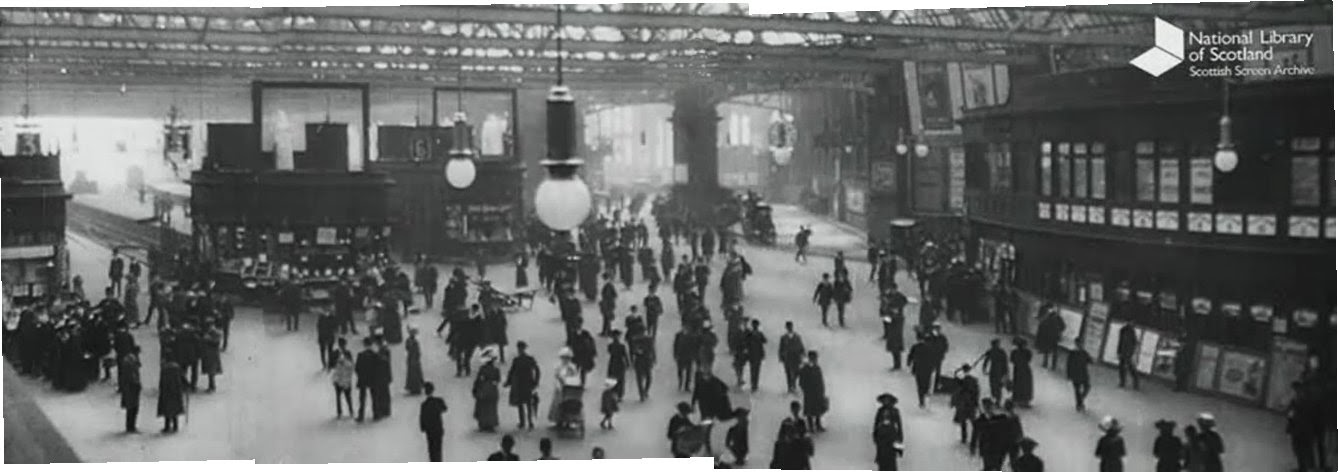 Glasgow Central Station , 1912