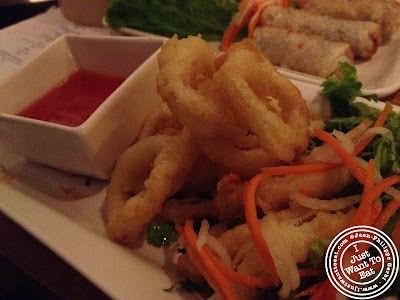 Image of Crispy calamari at Chapas Vietnamese eatery in NYC, New York
