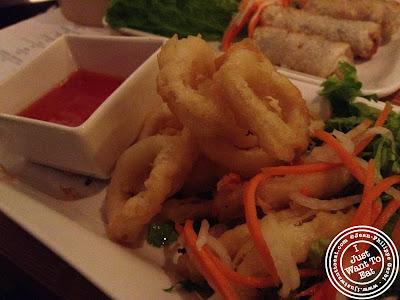 Image of Crispy calamari at Chapas Vietnamese eatery in NYC, New York