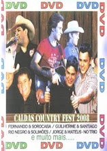 DVD - Caldas Country Fest 2008