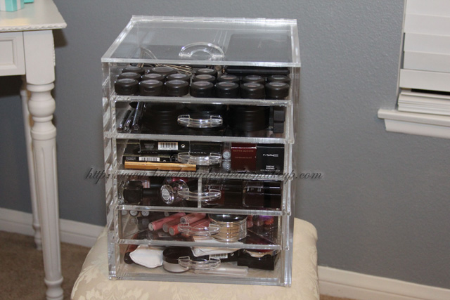 The Clear Cube & Hopelessly Devoted To Makeup: My Cosmetic Storage Solution - The ...