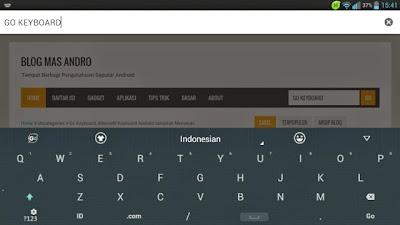 Go Keyboard Aplikasi Keyboard Android Terbaik
