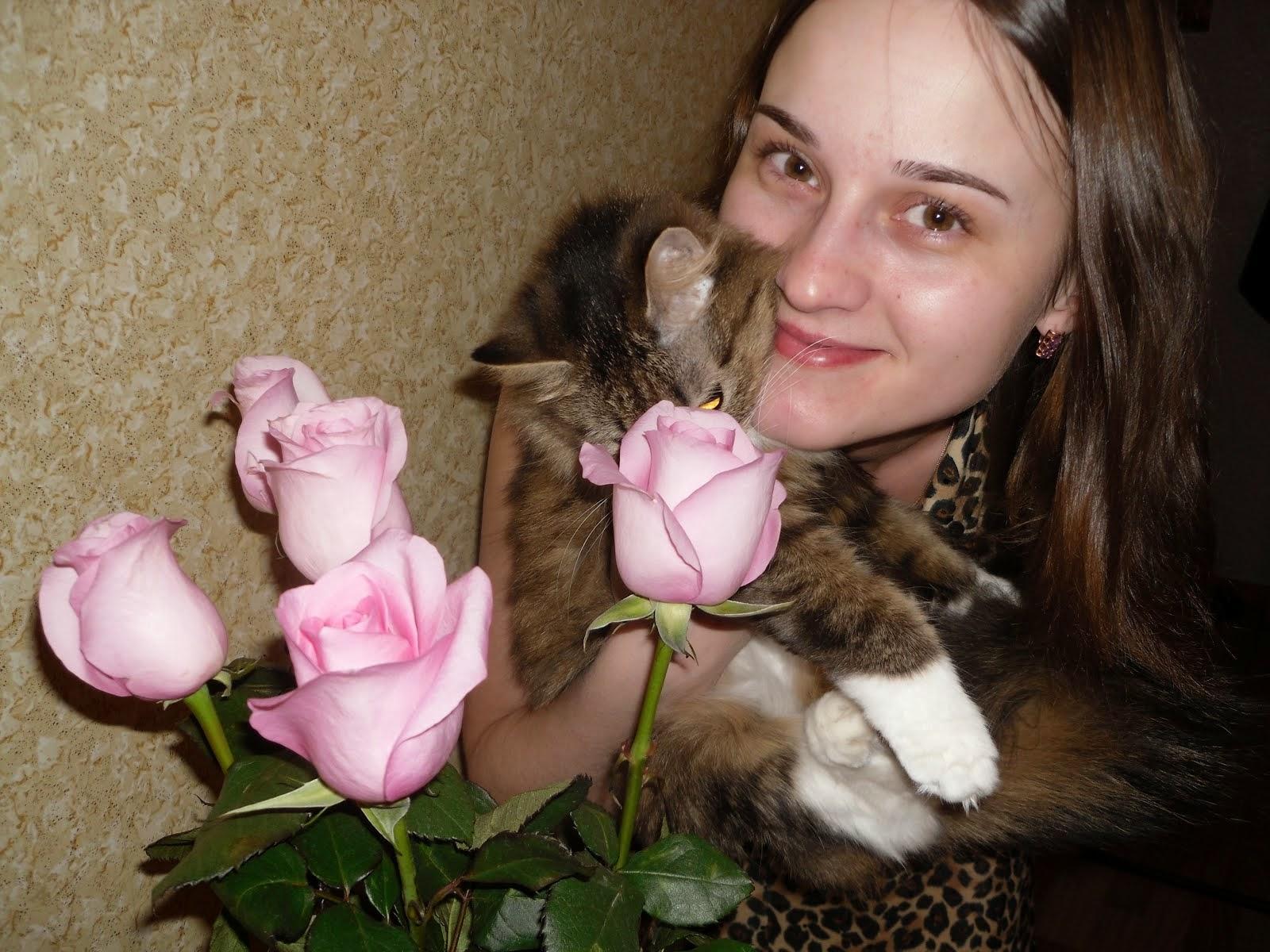 Это я с Пусей)))))