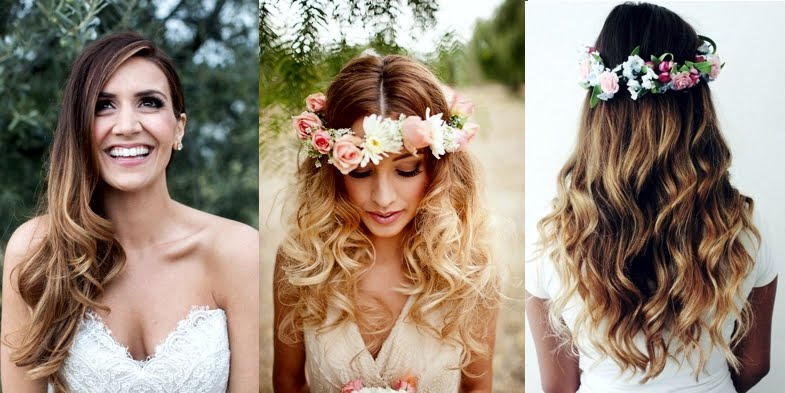 Bridal Ombre Hairstyles!