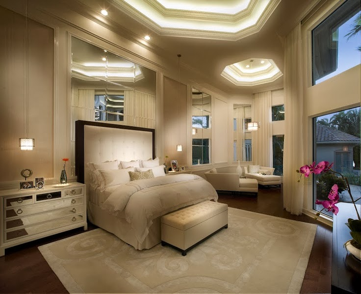 Contemporary bedroom furniture bedroom and bathroom ideas for Luxury modern bedroom