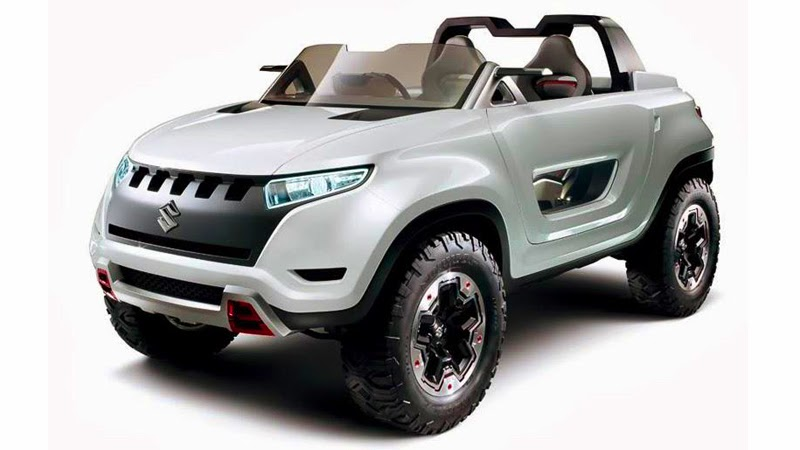 suzuki x lander hybrid concept 4x4 2013 plataforma do jimny carwp. Black Bedroom Furniture Sets. Home Design Ideas