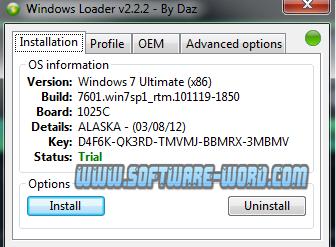 windows 7 loader daz v2.2.2