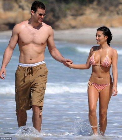 Kardashian on Kim Kardashian   With Boyfriend In Photos   All About Top Stars