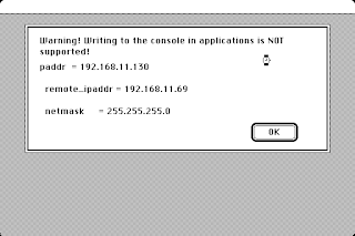 lwip PPP IP address dialog in Macintosh System 6.0.8