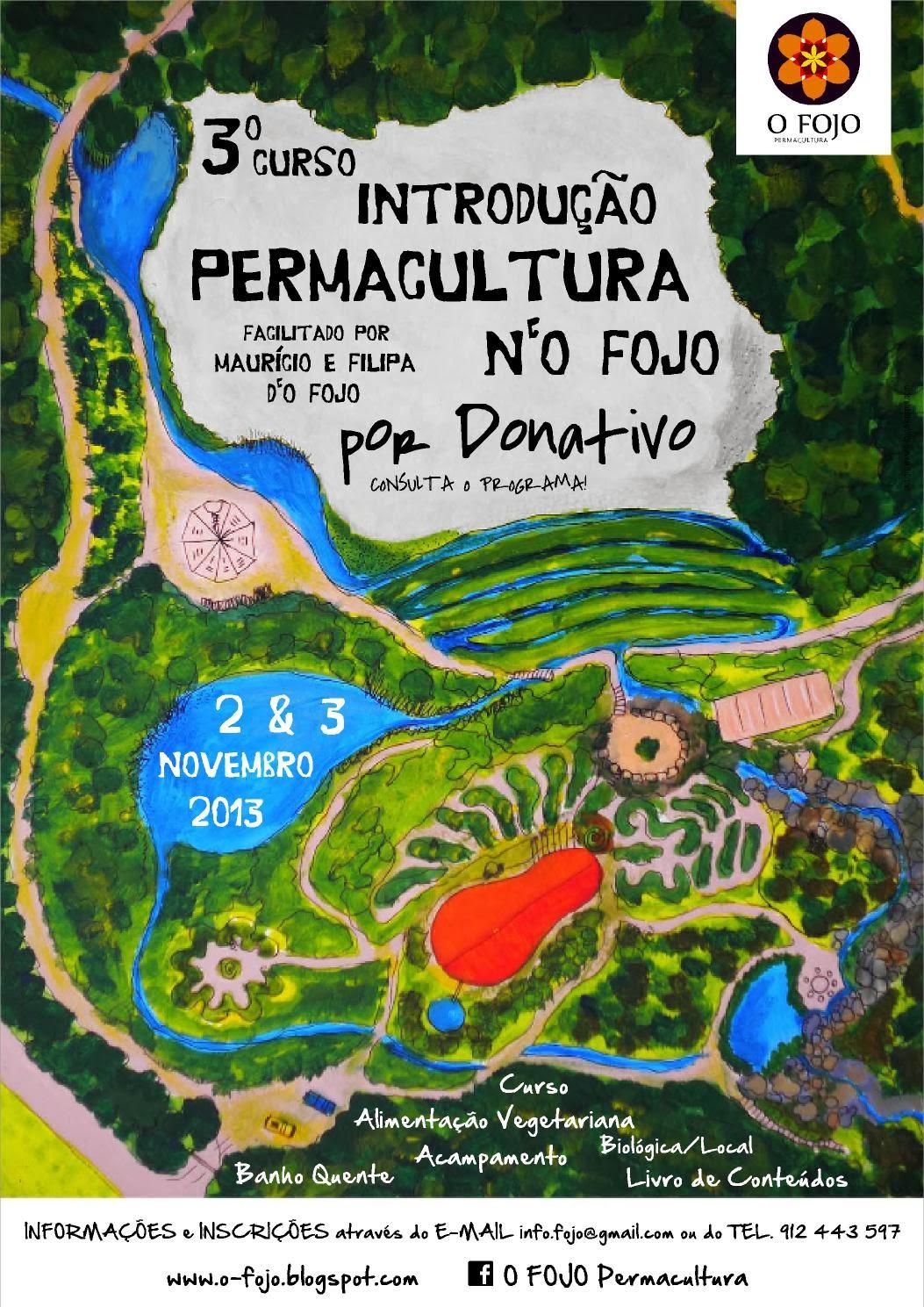 3º Curso de Introdução à Permacultura por Donativo n'O FOJO