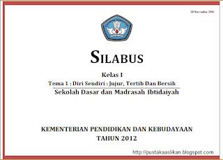 Download Silabus Kurikulum 2013 Sd Mi Kelas 1 2 3 4 Share The Knownledge