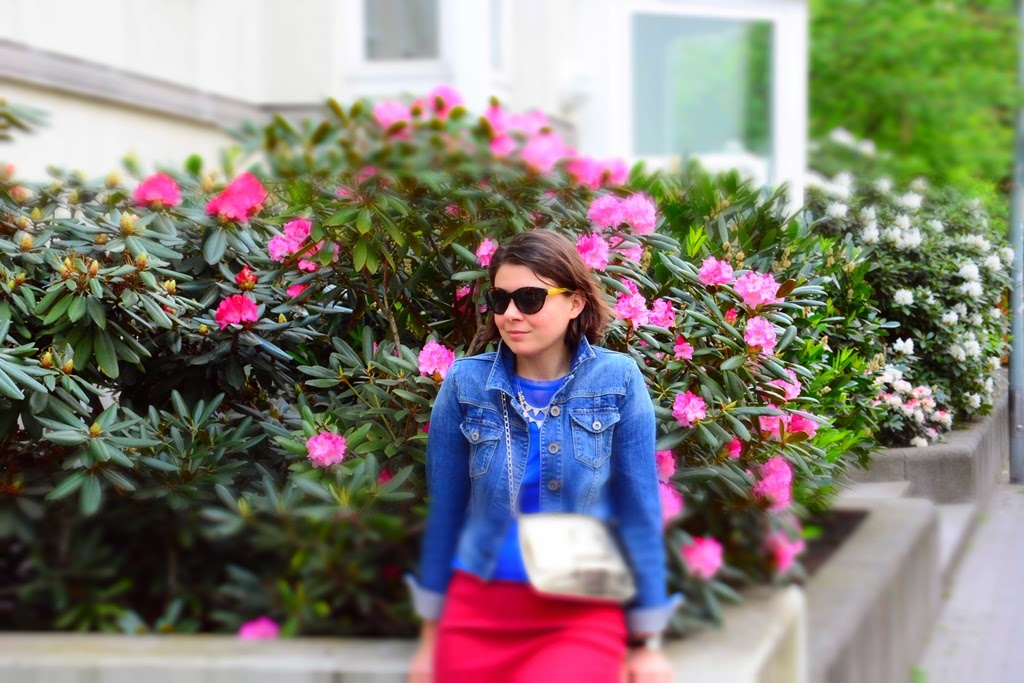 Frankfurt Blogger, jeans jacket