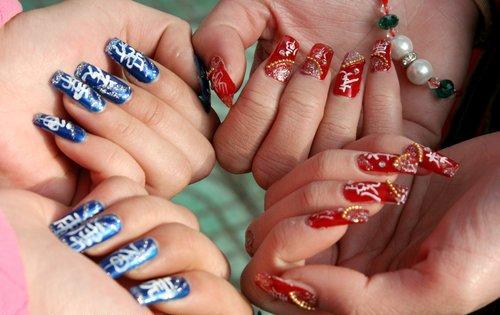 Дизайн ногтей в китай