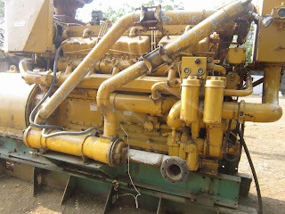 CAT D398, Caterpillar Marine Diesel Generators, Engine Parts, KVA 812, RPM 1200,  12 V cylinders