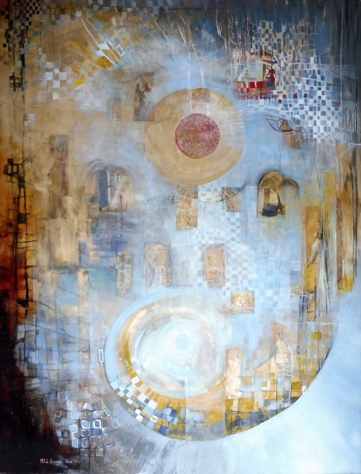 Histoires d'anges - 100 x 120 cm - 2016