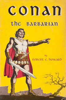 book cover, fantasy, conan the barbarian