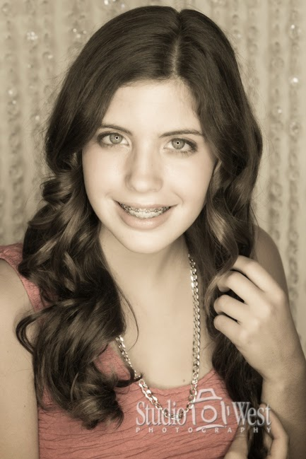 High School Senior Portrait - Atascadero Photographer - Studio 101 West Photography