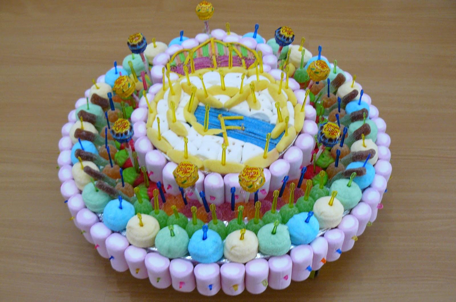 Ideas realizadas tarta de chuches - Tartas de chuches fotos ...
