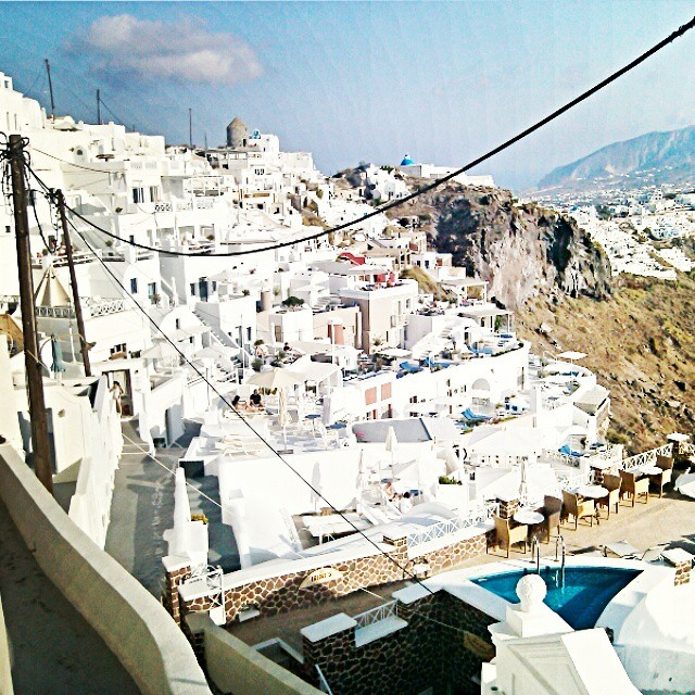 Santorini Instagram @lelazivanovic. Imerovigli in Santorini.