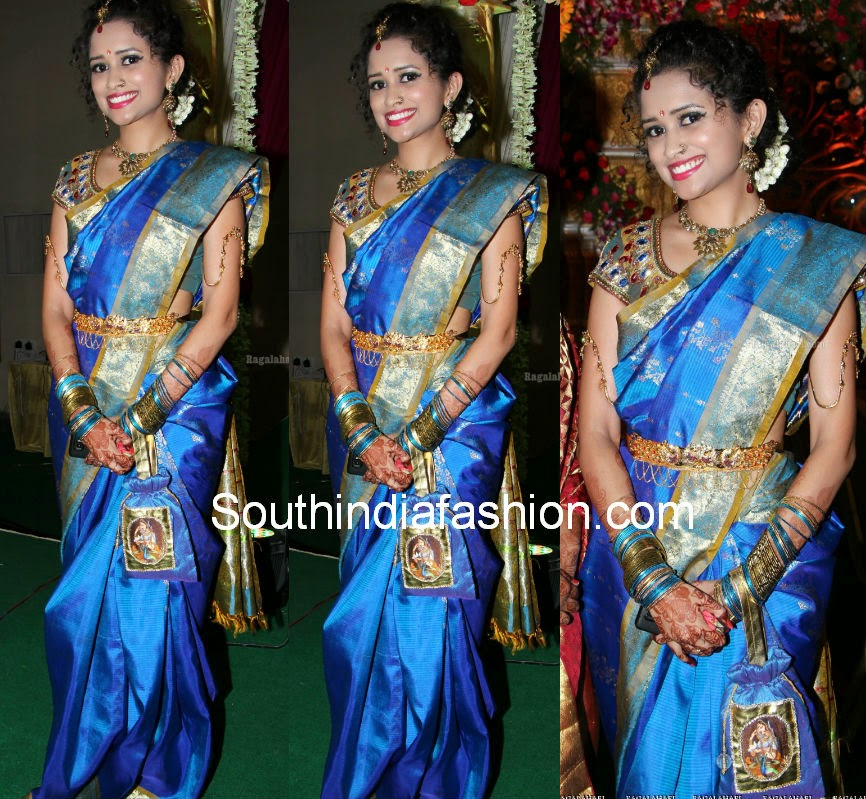 latest south actress bridal sarees