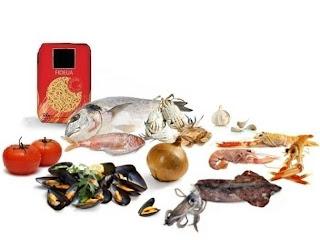 Fideuà  (paella Marinera De Fideos) - Traditional Noodles And Seafood Paella -