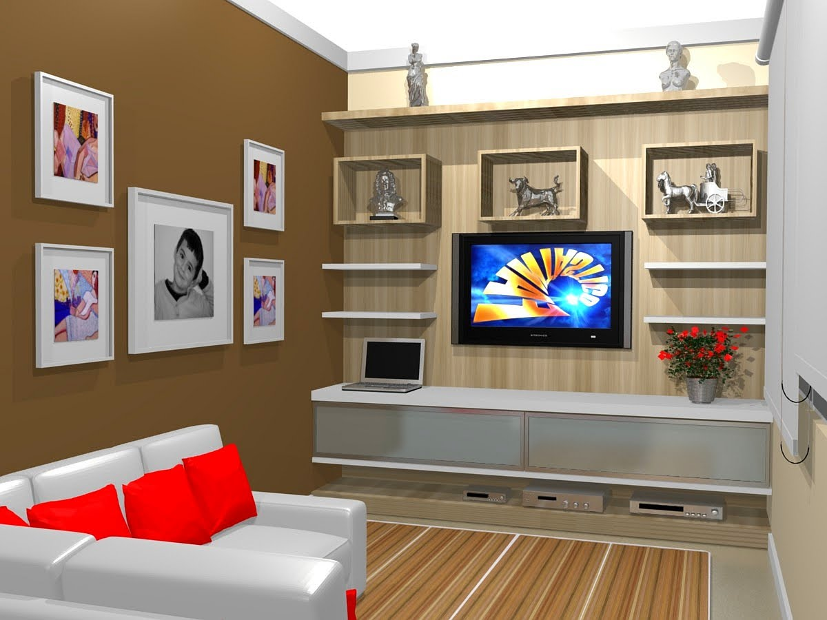 Rack E Painel Para Sala Pequena ~ 1000+ images about home theater, Tv Room, Sala de TV on Pinterest