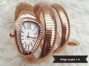 Jam Tangan Bvlgari Fashion Snake Super