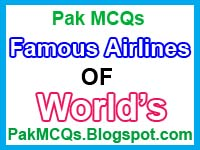 famous airlines of the world, the list famous and important airlines, top ten airlines , largest airline ,  pakistan airline history.