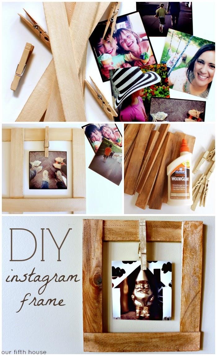 DIY Instagram Frame