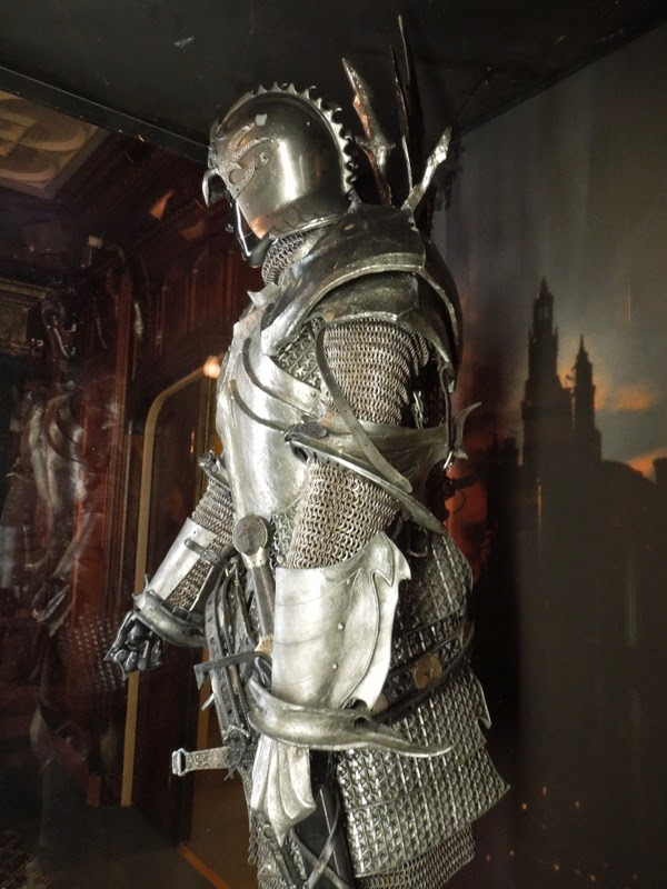 Maleficent King Stefan battle armour detail